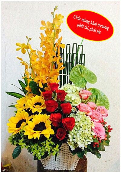tiệm bán hoa tươi quận 1