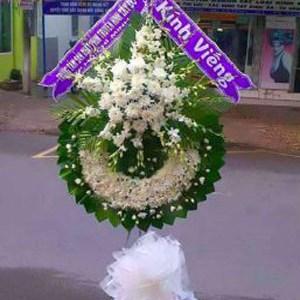 hoa chia buồn hcb 55
