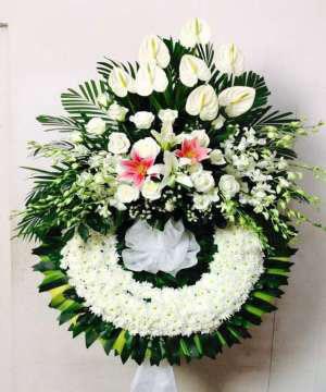 hoa chia buồn hcb 57
