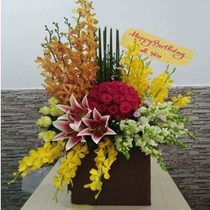 hoa sinh nhật hsn 70