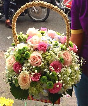 hoa sinh nhật hsn 91