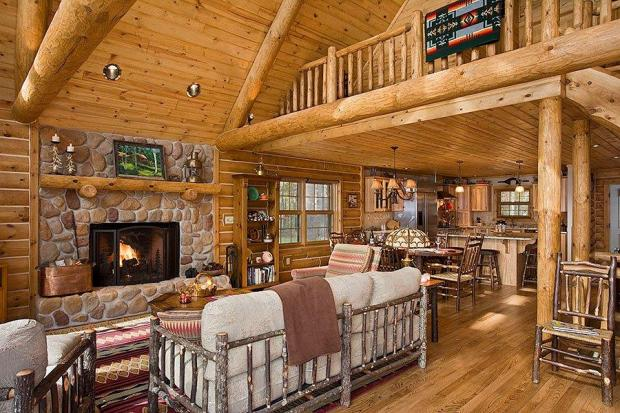 Log Cabin Home Decor Ideas Plans DIY How To Make