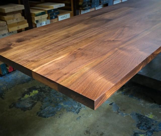 Home Wood Table Tops Table Tops Custom Hardwood Tabletops