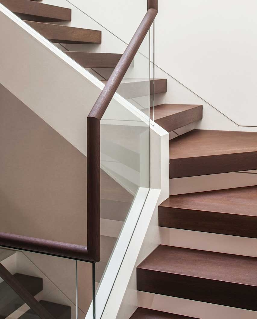 Custom Treads Risers House Of Hardwood | White Oak Stair Risers | Spindles | Paint | Stair Railing | Stairs Treads | Carpet