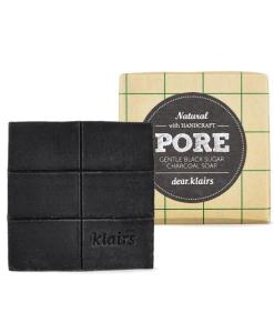 Klairs Gentle Black Sugar Charcoal Soap 1