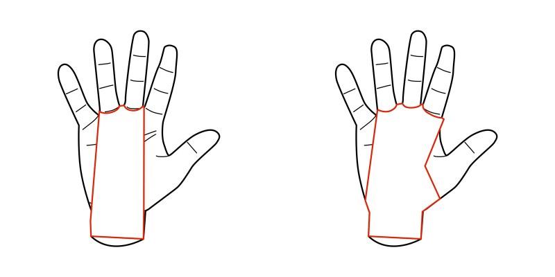 Dois ou Três dedos - Estafas
