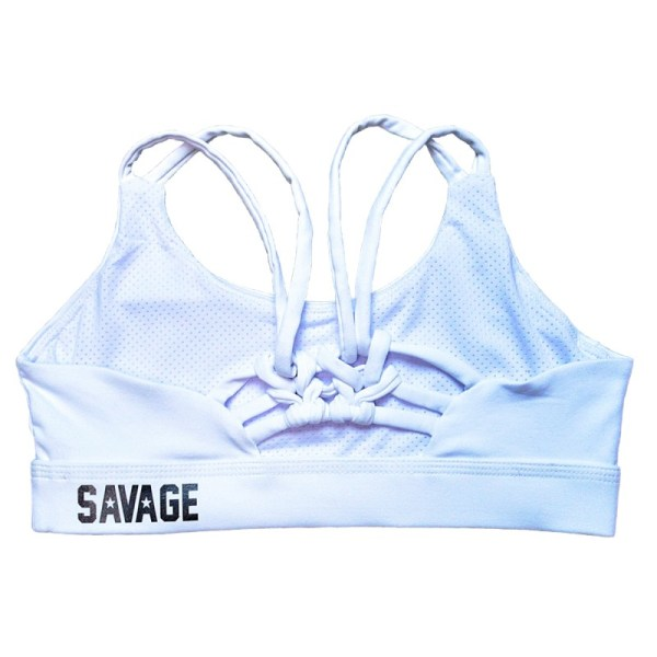 Soutien Desportivo Savage Barbell Knotty Back White