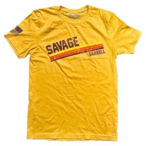 T-shirt Savage Barbell Groove