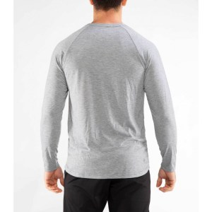 Raglan Long Sleeve VIRUS PC88 United Grey