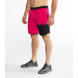 Shorts VIRUS ST5 Velocity Raspberry Black