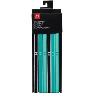 Under Armour 6-Pack Headbands Multi Verde