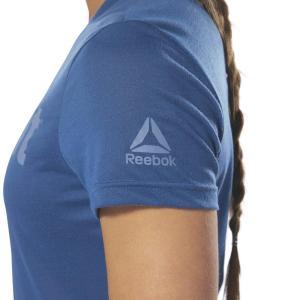 T-Shirt Reebok CrossFit Speedwick Bunker Blue