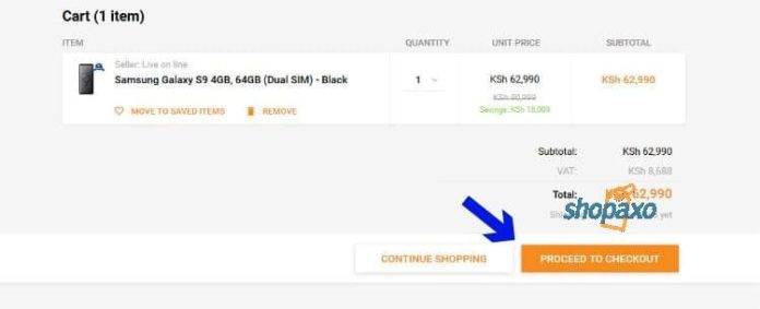 how to place an order on Jumia 4
