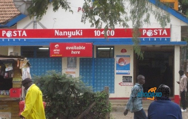 Post Office box charges in Kenya 2