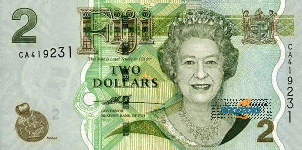 Fijian Dollar-highest currency in the world