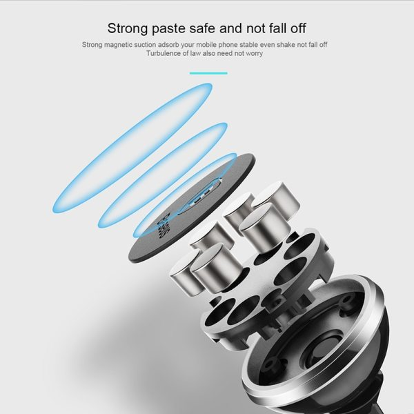 Baseus Magnetic Car Phone Holder For iPhone Xs Max X Samsung S10 Magnet Mount Car Holder Stand Cellphone Holder Support In Car