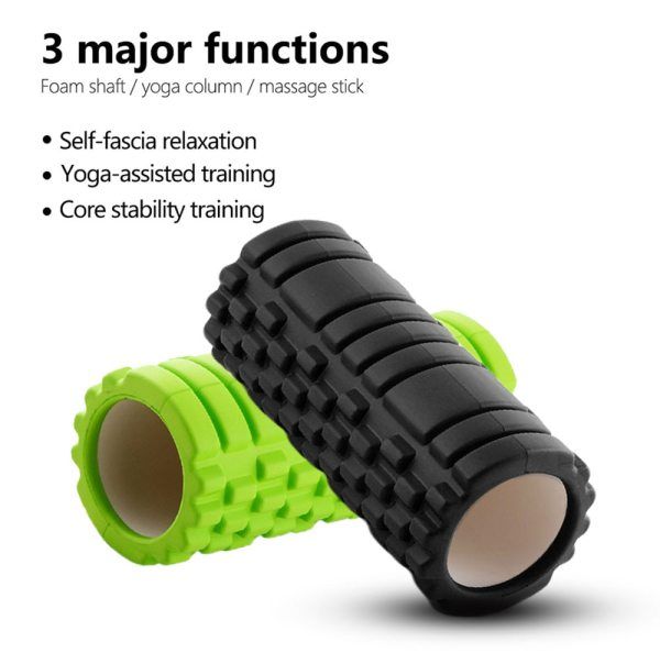 Yoga Block Fitness Equipment Pilates Foam Roller Fitness Gym Exercises Muscle Massage Roller Yoga Brick Sport Gym