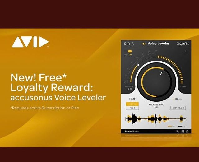 Pro Tools Users Claim your Free @accusonus Plugin!