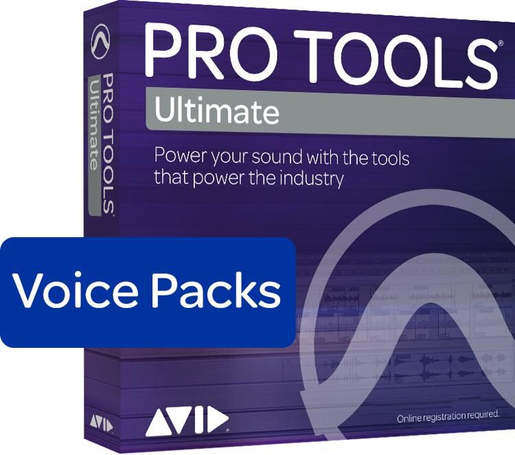 Avid Pro Tools Ultimate – 256 Voice Pack Perpetual License