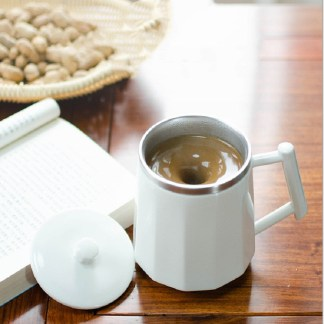 Magnetic Force Temperature Difference Automatic Ceramic Stirring Cup