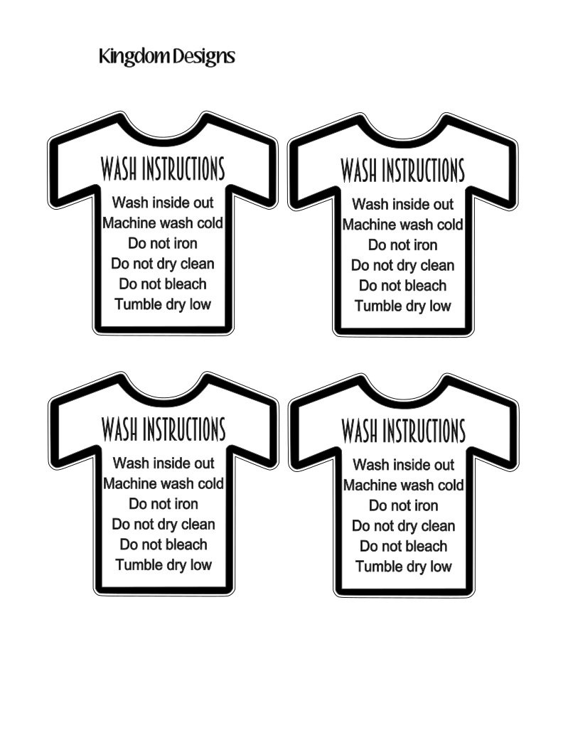 t-shirt care card png shirt care instructions png png shirt care card print and cut shirt care card png printable care cards for shirts