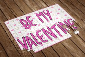 be my valentine puzzle
