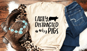 easily distracted by pigs