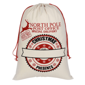 North Pole Santa Sack