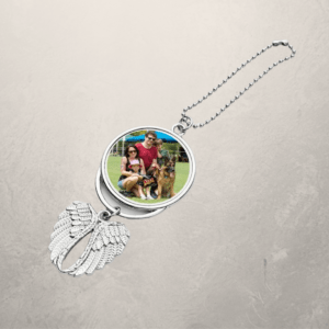 Blank Sublimation Angel Wing KeyChain