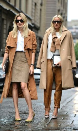 neutral beige outfits