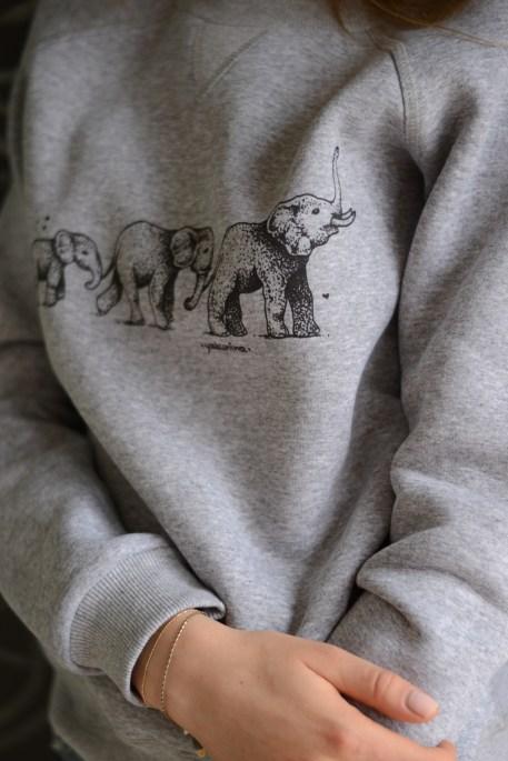 print sweatshirt //ShopLaLune