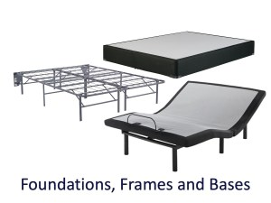 Rent to own mattresses frames and bases