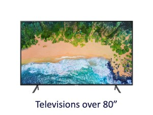 Rent to own tvs 80 plus inch