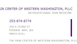 The Pain Center Of Western Washington