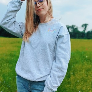 Good Vibes Embroidered Jumper