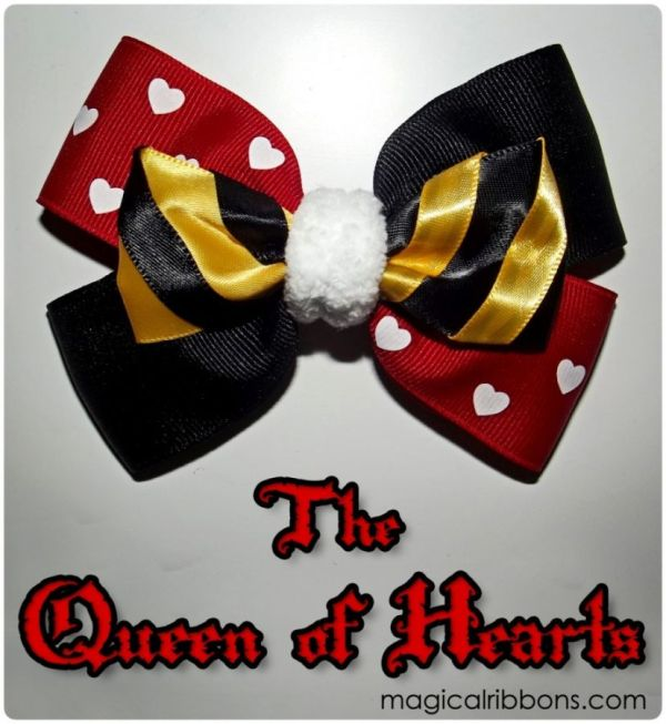 The Queen of Hearts Bow