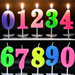 Chinese Birthday Candle 0-9