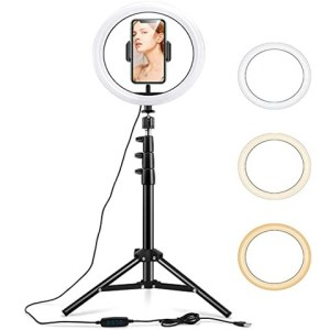 26cm Tik-Tok Ring Light with Tripod Stand