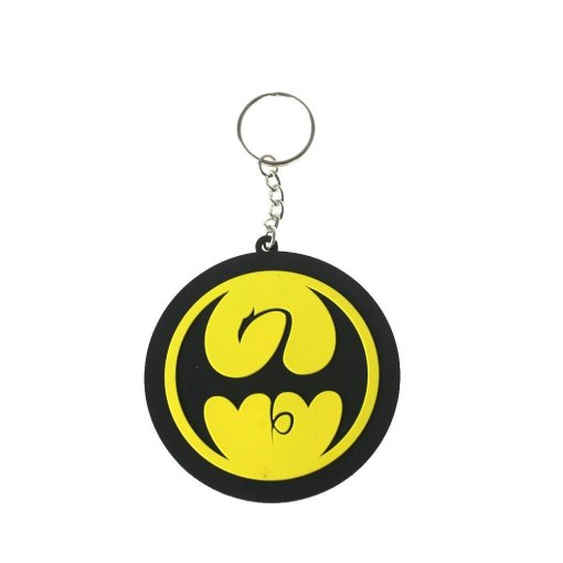 Keychain featuring Iron Fist from Marvel
