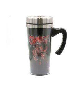 Marvel's Carnage travel coffee mug