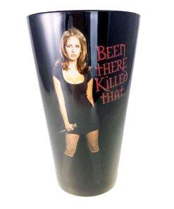 Buffy the Vampire Slayer pint glass