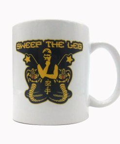 Cobra Kai Sweet the Leg coffee mug
