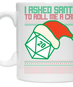 Santa Crit roll coffee mug