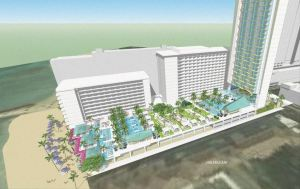 Outrigger's planned 200-room hotel tower may start construction in early 2018