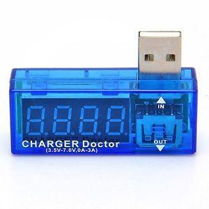USB ChargerDoctorMobile Power DetectorBatteryTester Voltage Current Meter