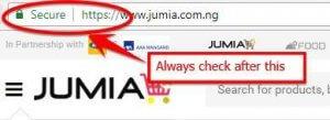 Jumia Safety measure