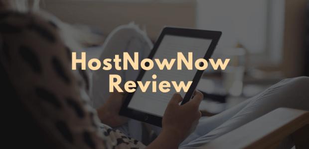 HostNowNow Review Web Hosting Reviews