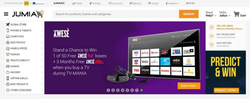 Jumia Nigeria - Best online shopping site In Nigeria