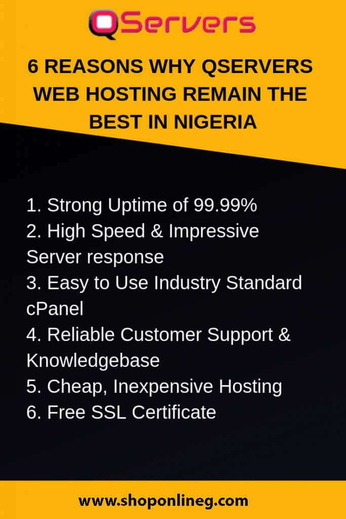 6 Reasons Why Qservers Web Hosting Remain The Best In Nigeria Qservers review #Qservers #hosting