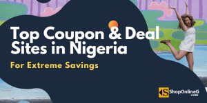 Coupon & Deal sites in Nigeria